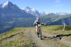 19. Eiger Bike Challenge am Sonntag, 14. August in Grindelwald. Foto Martin Platter